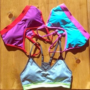 3 Nike Sports bras - Size Small